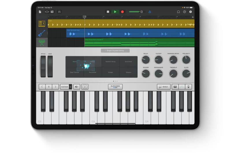 Tablet device to use for reading OKTAV sheet music