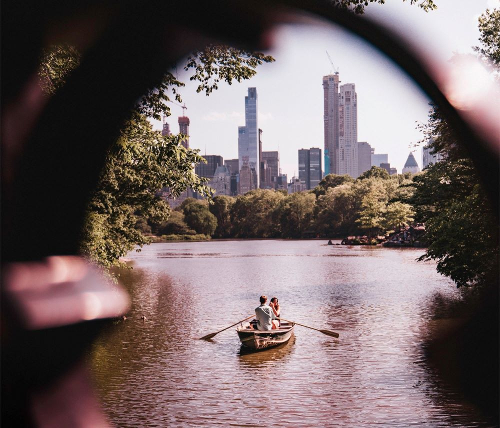 Boating in Manhattan, New York