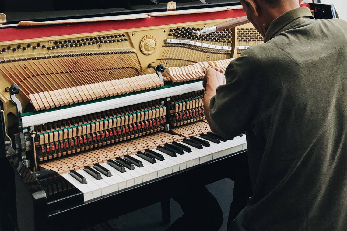 How the piano works