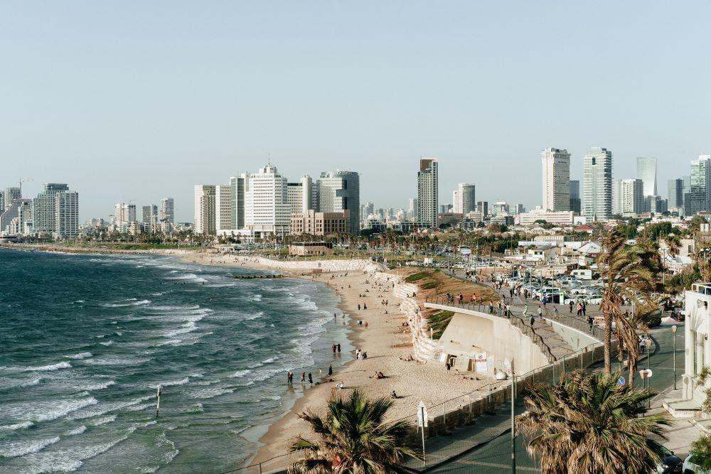 Skyline of Tel Aviv