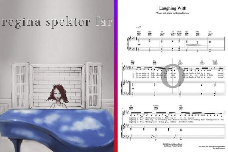 regina spektor piano sheet music
