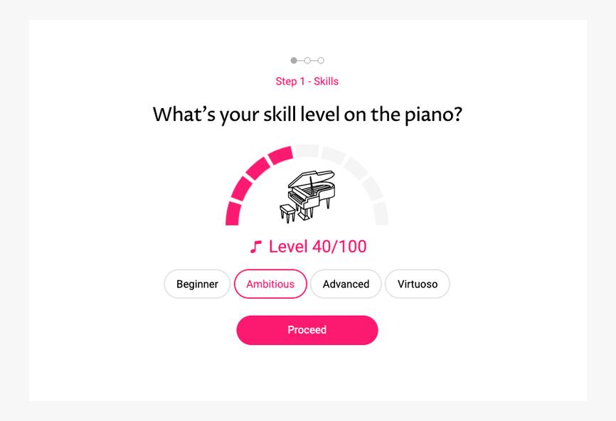 OKTAV skill levels