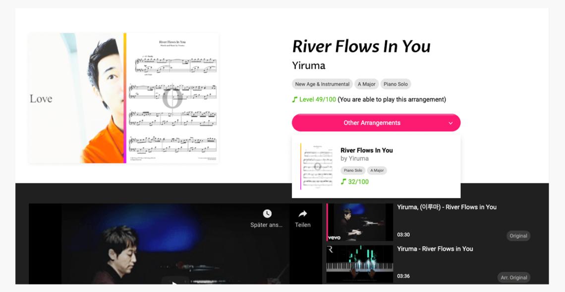 OKTAV River Flows In You