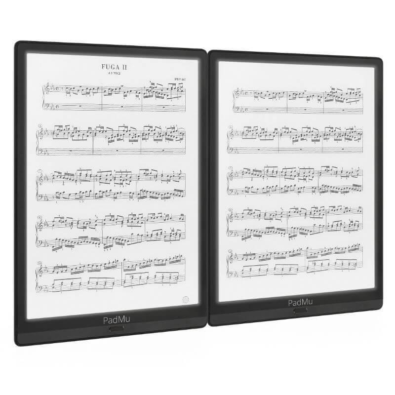 E-Ink-device for reading OKTAV sheet music
