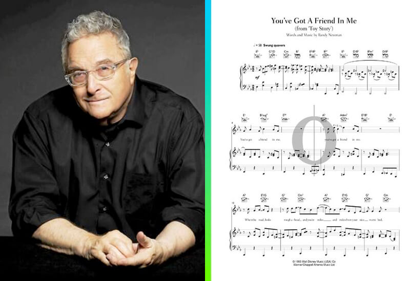 randy newman piano sheet music